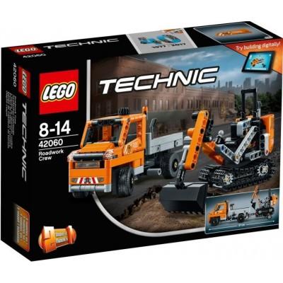 LEGO® Technic™ Roadwork Crew 42060