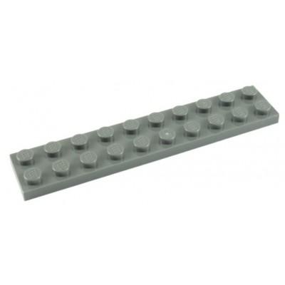 LEGO 2 x 10 Plate Light Bluish Grey
