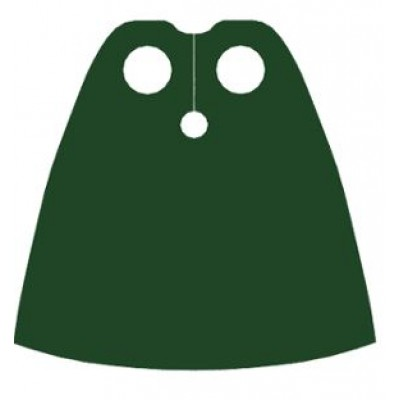 LEGO Minifigure Cape - Dark Green