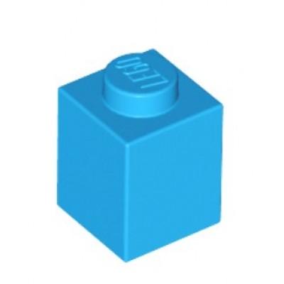 LEGO 1 x 1 Brick Dark Azure