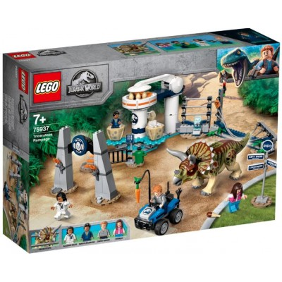 LEGO® Jurassic World Triceratops Rampage 75937