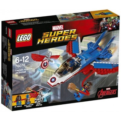 LEGO® Marvel Super Heroes™ Captain America Jet Pursuit 76076