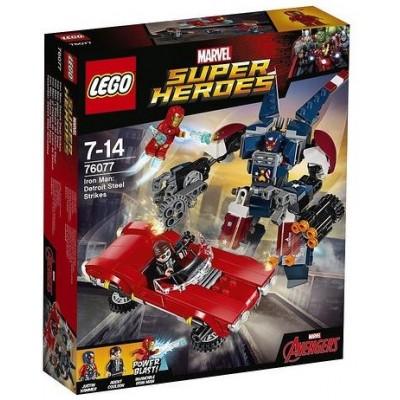 LEGO® Marvel Super Heroes™ Iron Man: Detroit Steel Strikes 76077