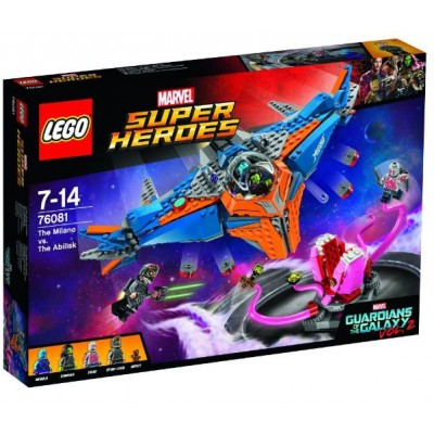 LEGO® Marvel Super Heroes™ The Milano vs. The Abilisk 76081