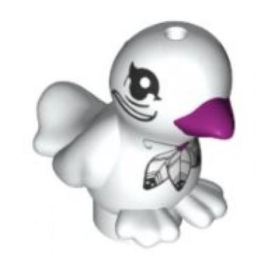 LEGO Bird - White (Pluma)
