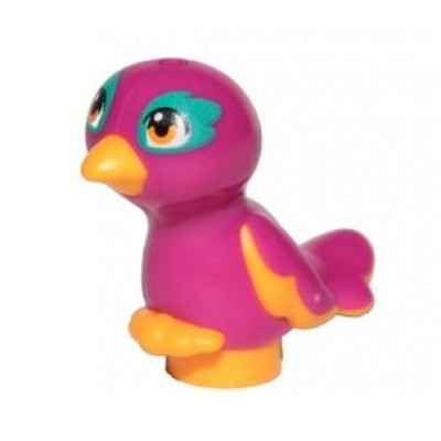 LEGO Bird - Bright Light Orange Magenta