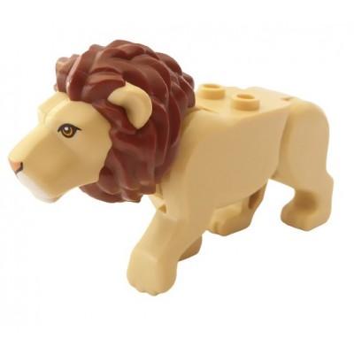 LEGO Cat, (Lion) - Tan