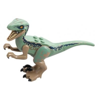 LEGO Dinosaur, Raptor / Velociraptor - Sand Green