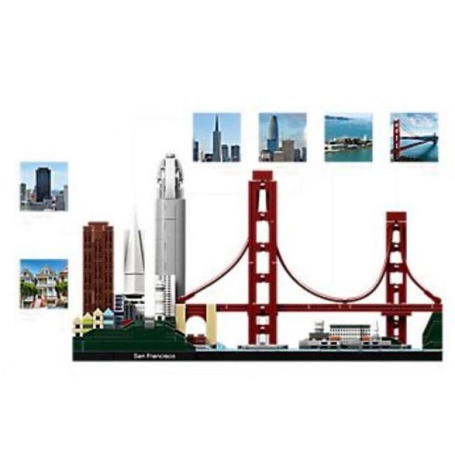 LEGO® Architecture San Francisco Sonstige