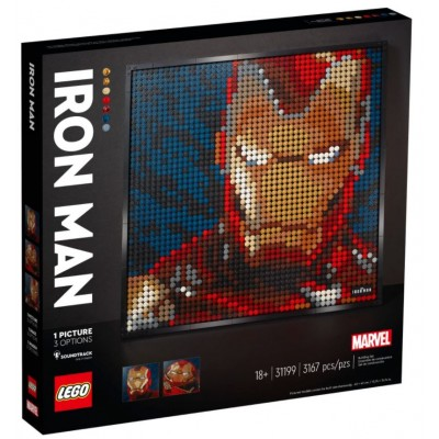 LEGO® Art Marvel Studios Iron Man 31199