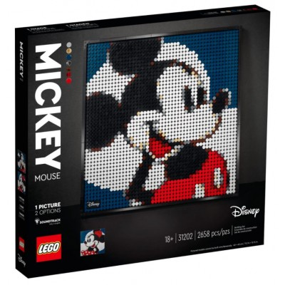 LEGO® Art Disney's Mickey Mouse 31202
