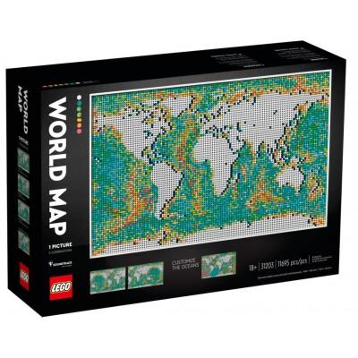 LEGO® Art World Map 31203