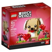 LEGO® BrickHeadz™ Valentine's Puppy 40349
