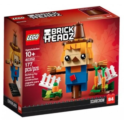 LEGO® BrickHeadz™ Thanksgiving Scarecrow 40352