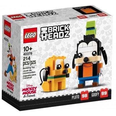 LEGO® BrickHeadz™ Disney Goofy & Pluto 40378