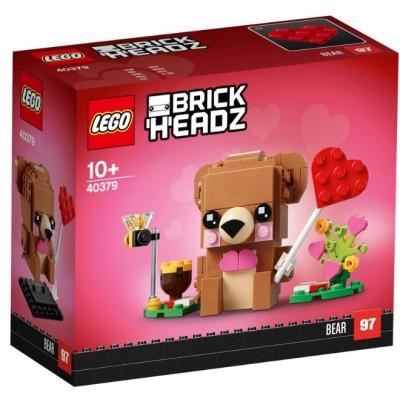LEGO® BrickHeadz™ Valentine's Bear 40379