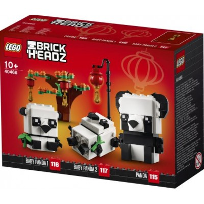 LEGO® BrickHeadz™ Chinese New Year Pandas 40466