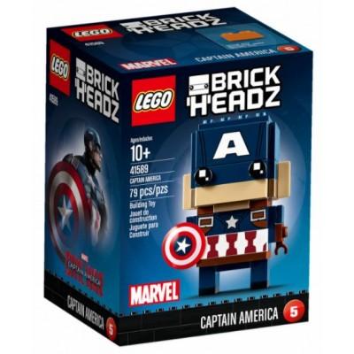 LEGO® BrickHeadz™ Captain America 41589