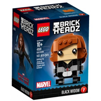 LEGO® BrickHeadz™ Black Widow 41591
