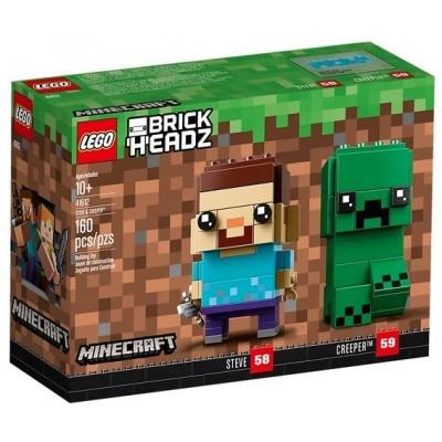 LEGO® BrickHeadz™ Steve and Creeper™ 41612