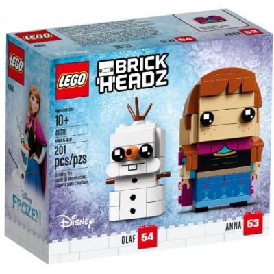LEGO® BrickHeadz™ Anna and Olaf 41618