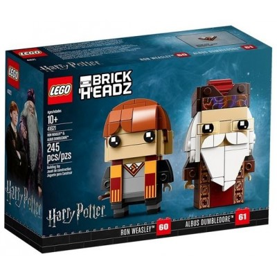 LEGO® BrickHeadz™ Ron Weasley™ and Albus Dumbledore™ 41621