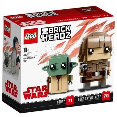 LEGO® BrickHeadz™ Luke Skywalker™ & Yoda™ 41627