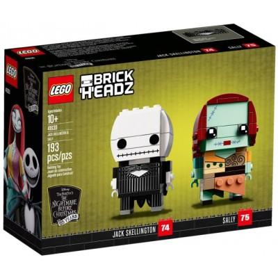 LEGO® BrickHeadz™ Jack Skellington & Sally 41630