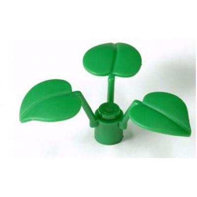 LEGO Leaves (3 elements) Green