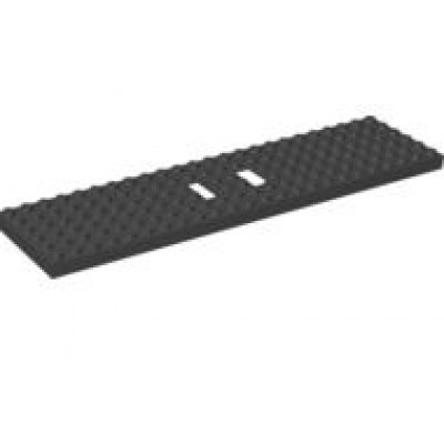 LEGO® Train Base 6 x 24 Black