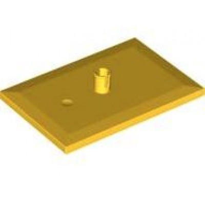 LEGO® Train Bogie Plate (Yellow)