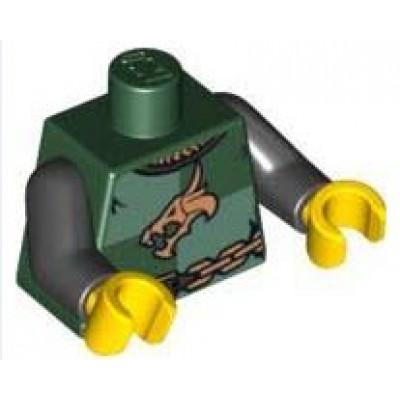 LEGO Minifigure Torso Castle Kingdoms Dragon
