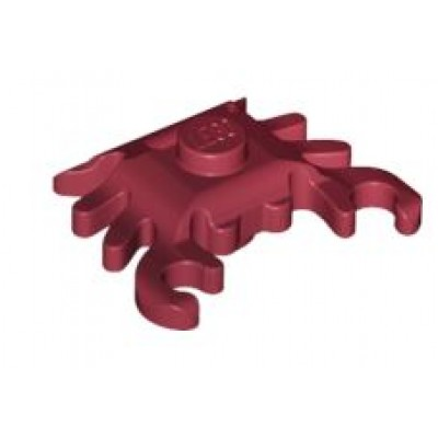 LEGO Crab Dark Red
