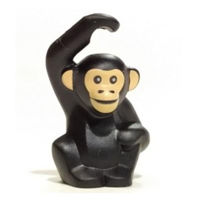 LEGO Chimpanzee (Black)
