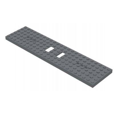 LEGO® Train Base 6 x 24 Dark Bluish Grey