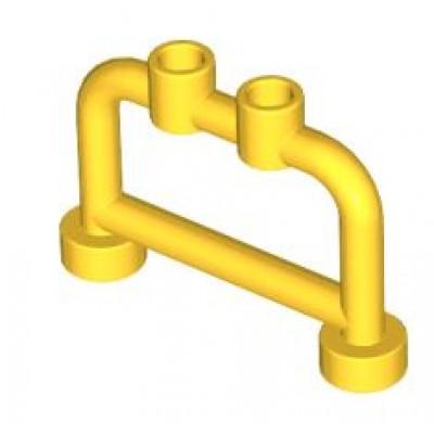 LEGO Fence Bar (Yellow) 1 x 4 x 2 with studs