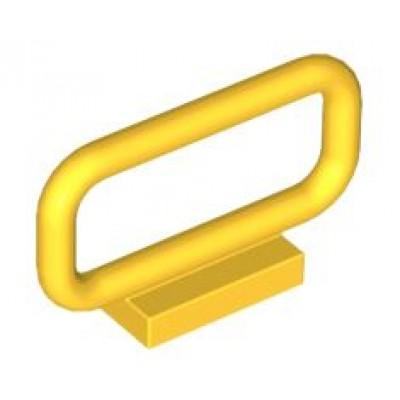 LEGO Fence Bar (Yellow) 1 x 4 x 2
