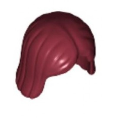 LEGO Minifigure Hair Straight Bob - Dark Red