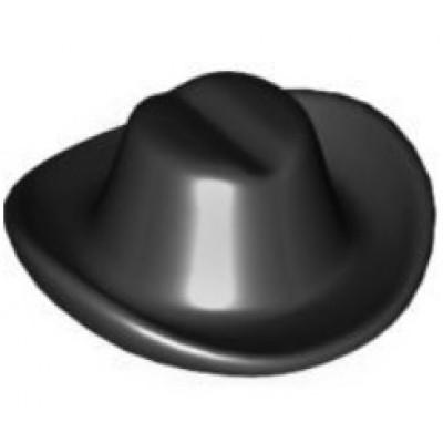 LEGO Minifigure Hat - Cowboy Black