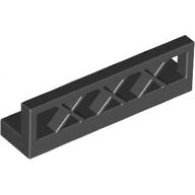 LEGO Fence Low (Black)