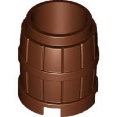 LEGO Barrel 2x2x2 (Reddish Brown)