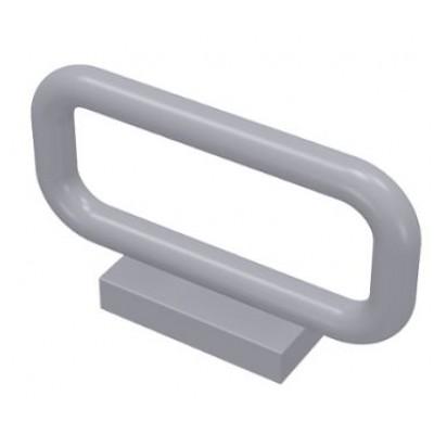 LEGO Fence Bar (Light Bluish Grey) 1 x 4 x 2