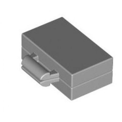 LEGO Briefcase (Light Bluish Grey)