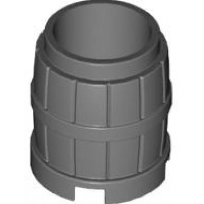LEGO Barrel 2x2x2 (Dark Bluish Grey)