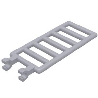 LEGO Bar 7 x 3 (Ladder) Light Bluish Grey
