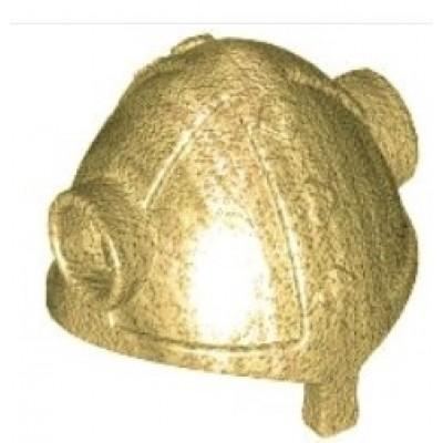 LEGO Minifigure Helmet - Viking Metallic Gold