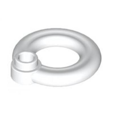 LEGO Lifebuoy Ring with Knob (White)