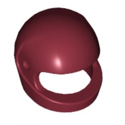 LEGO Minifigure Helmet - Dark Red