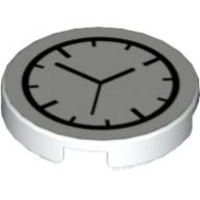 LEGO Clock - Round Analog