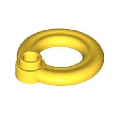 LEGO Lifebuoy Ring with Knob (Yellow)